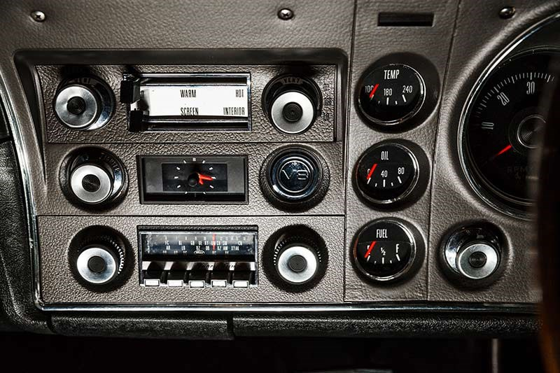 ford falcon xw gtho phase i dash