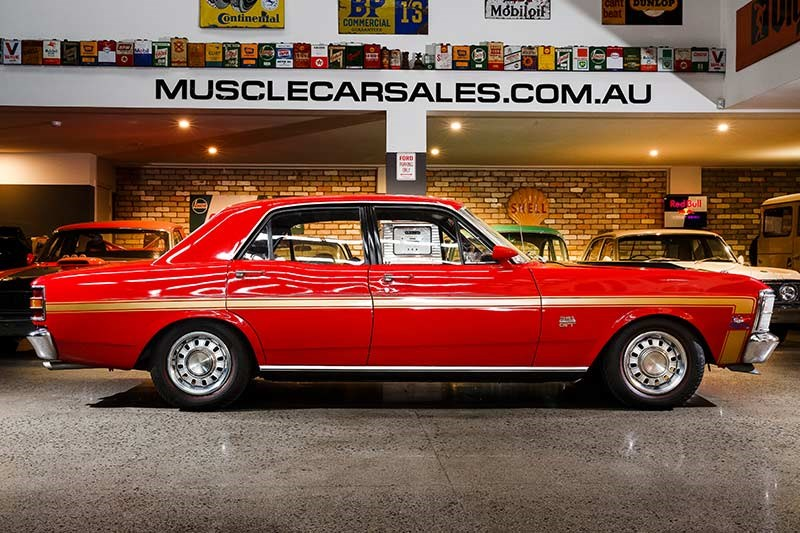 ford falcon xw gtho phase i side
