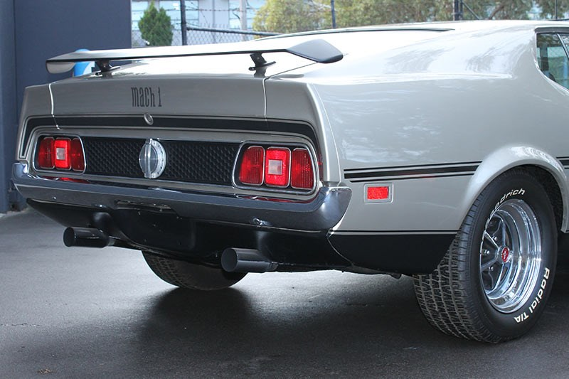 ford mustang mach1 rear 2