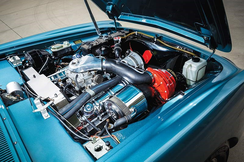 studebaker avanti engine bay 3
