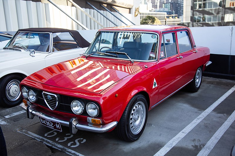 Cars Coffee Alfa romeo giulia sedan
