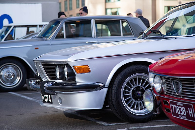 Cars Coffee BMW E9