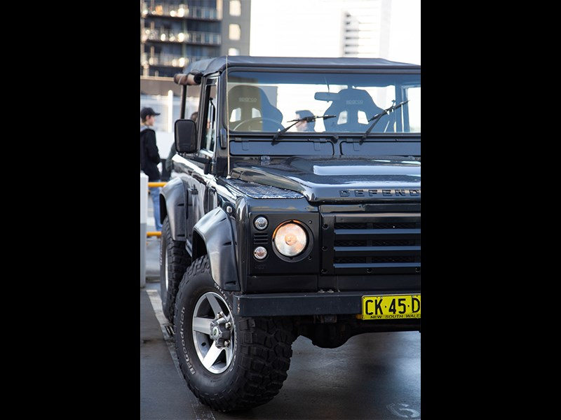 Cars Coffee Land Rover Defender