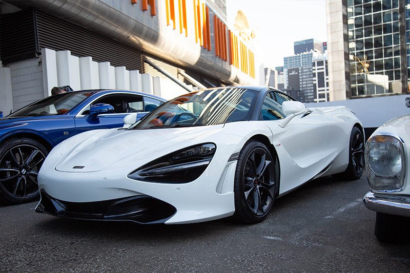 Cars Coffee McLaren 720s