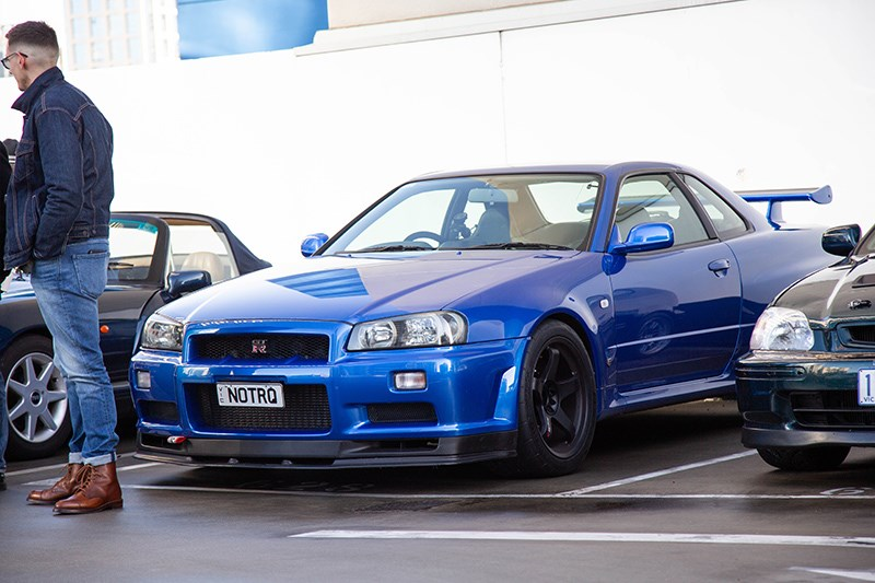 Cars Coffee Nissan Skyline