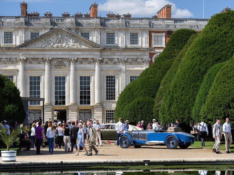 Concours of Elegance show