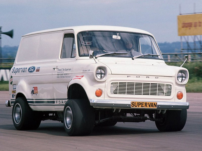 Ford Supervan 1 front quarter