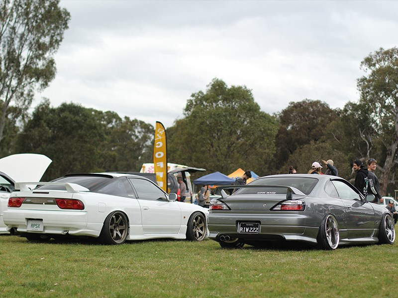 Sakura Picnic RPS13 and S15 rear