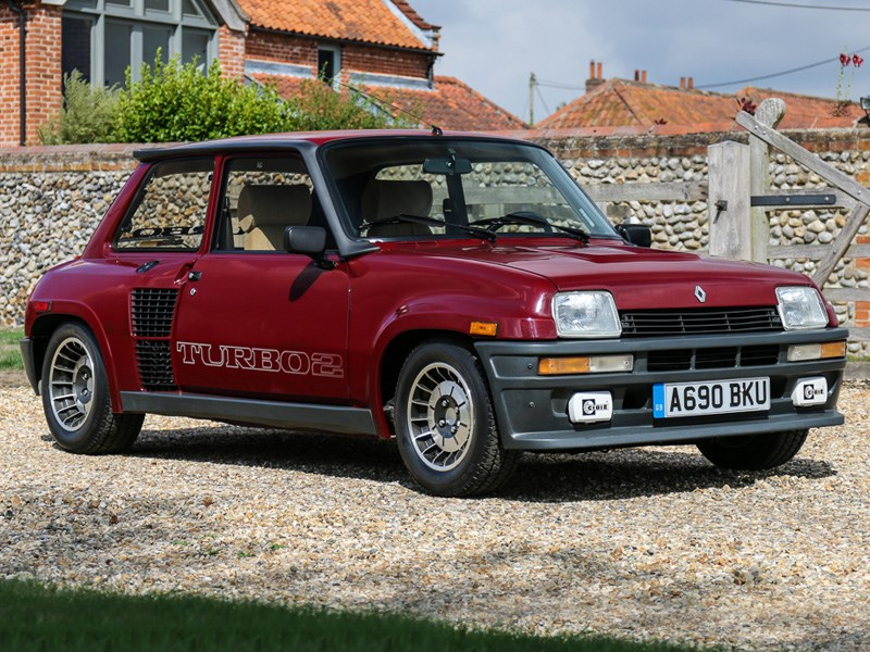 Silverstone Auctions Renault 5 turbo 2