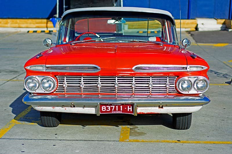 chev bel air 2 front