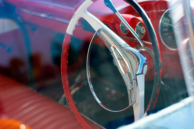 chev bel air 2 steering wheel