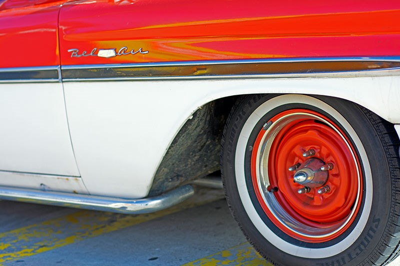 chev bel air 2 wheel
