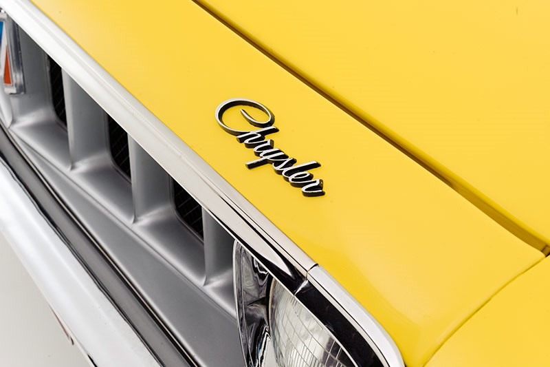 chrysler valiant badge 2