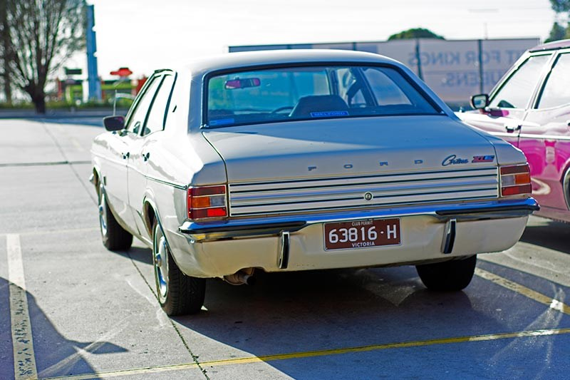 ford cortina rear