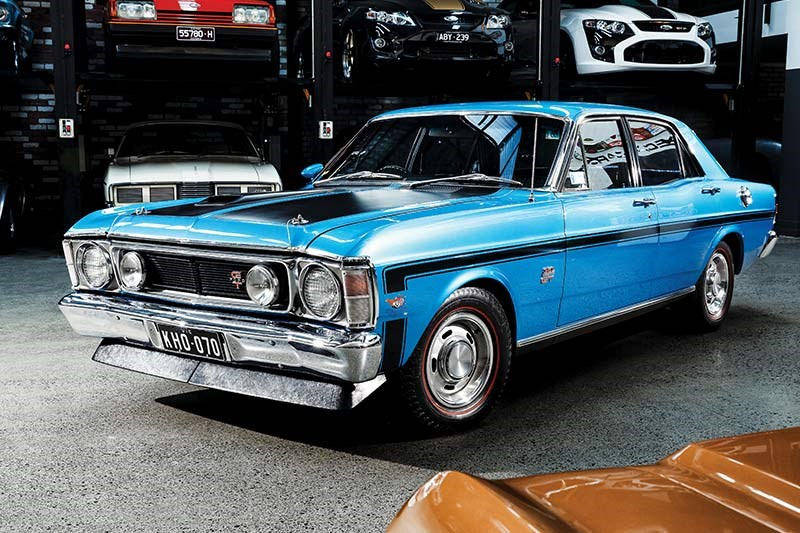 ford falcon phase ii front