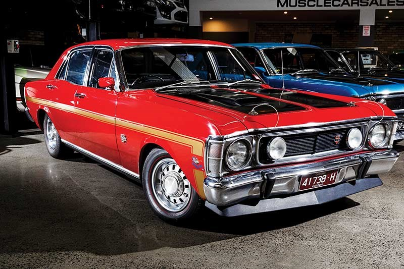 ford falcon xw gtho phase i front