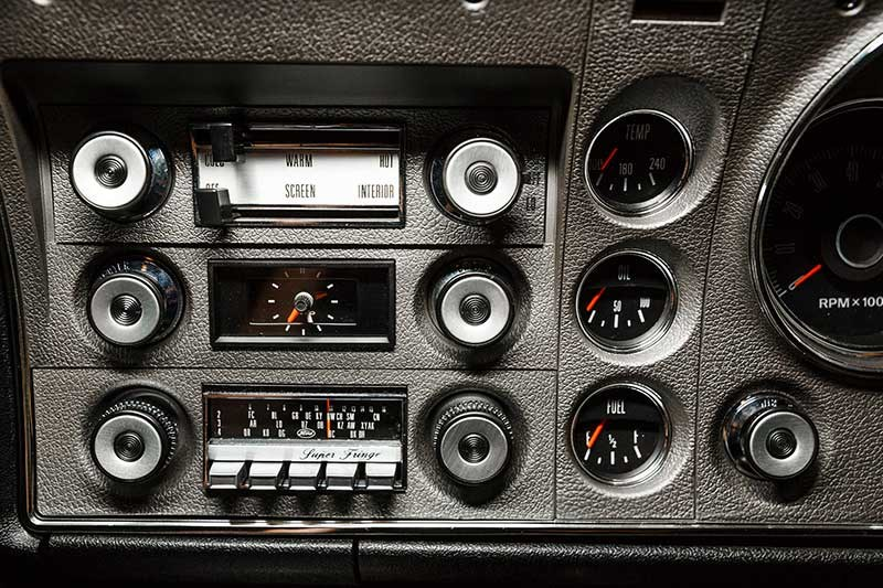 ford falcon xy gtho phase iii dash