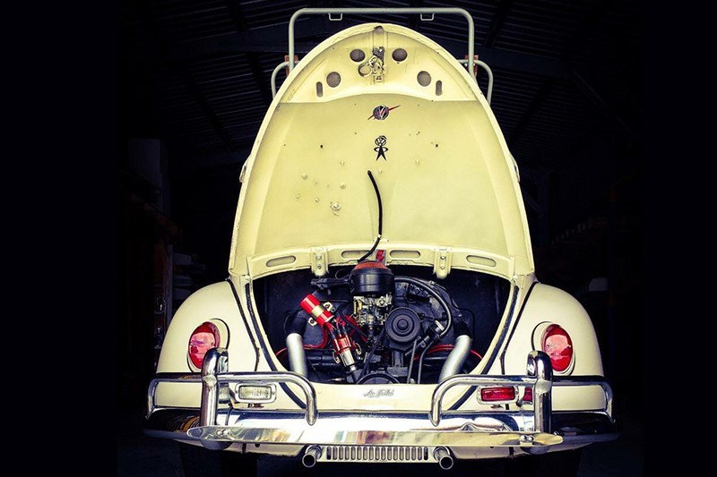 vw beetle rear