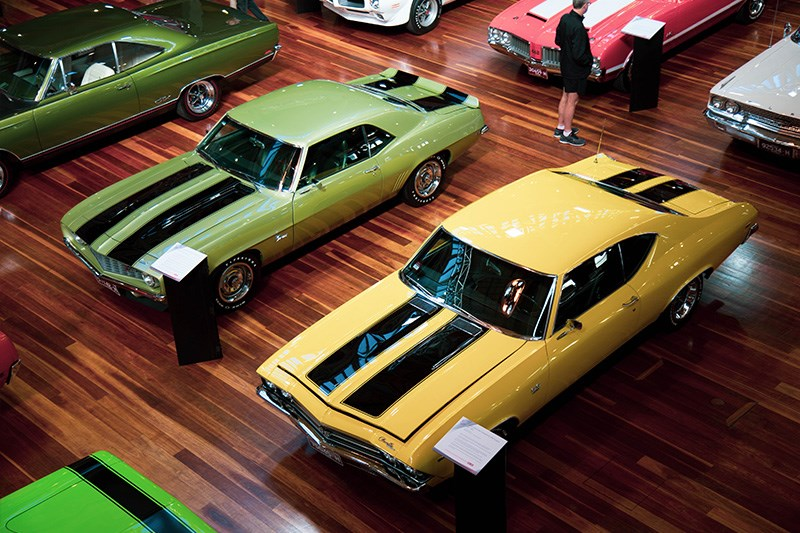 Motorclassica 70s muscle