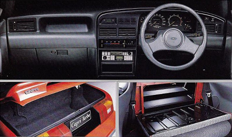 ford capri dash
