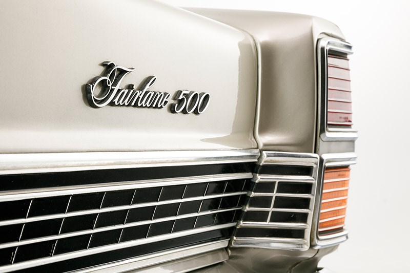 ford fairlane 500 zd badge 2