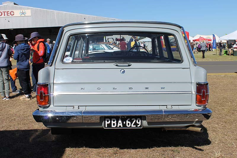 holden eh wagon rear