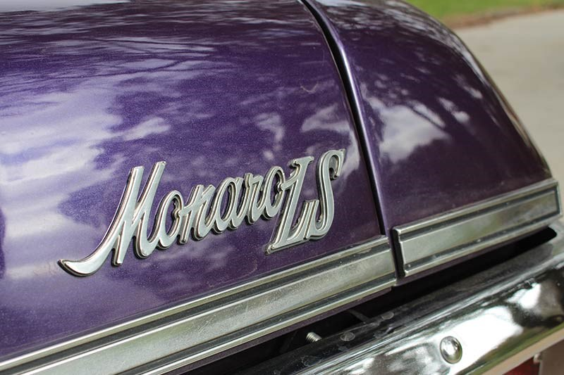holden hq monaro ls badge