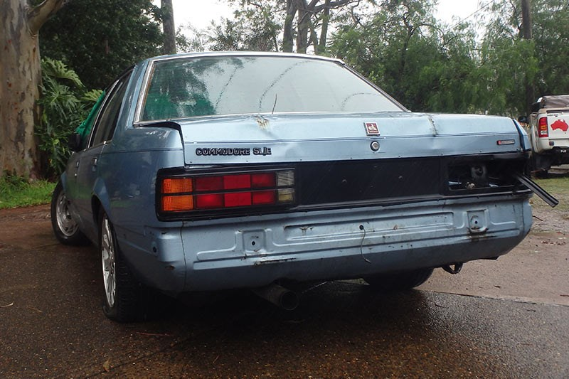 holden vc commodore rear