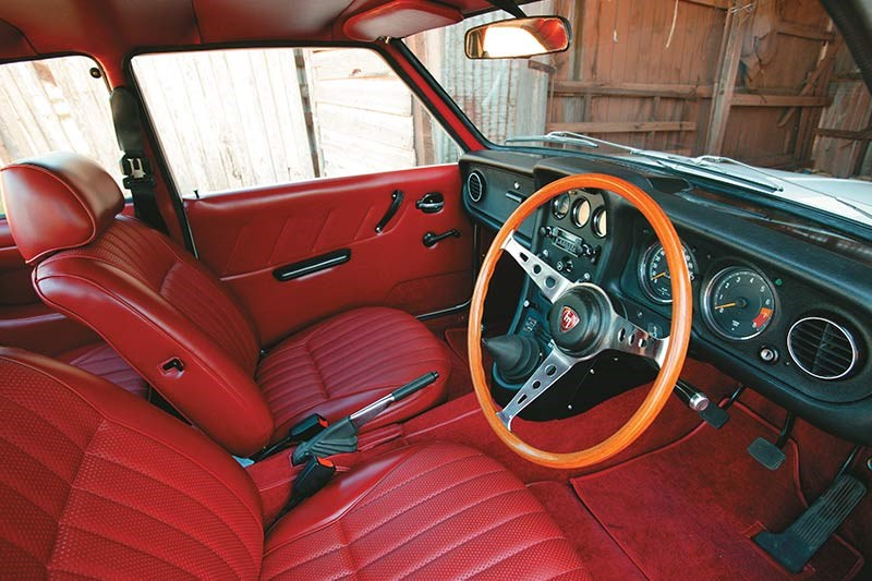 rotary coupe interior
