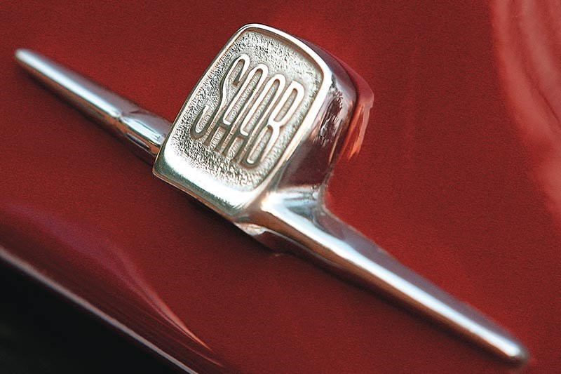 saab 92b badge