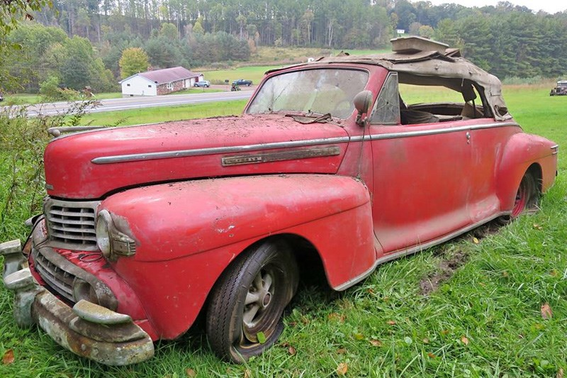 Barn Find Friday 1946 Lincoln Convertible