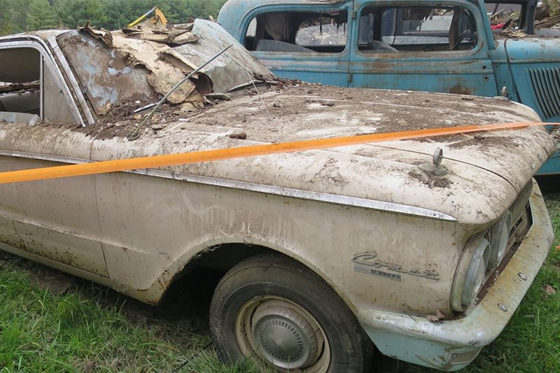 Barn Find Friday Mercury Comet