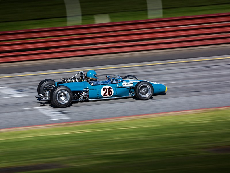 VHRR Sandown Historics Brabham