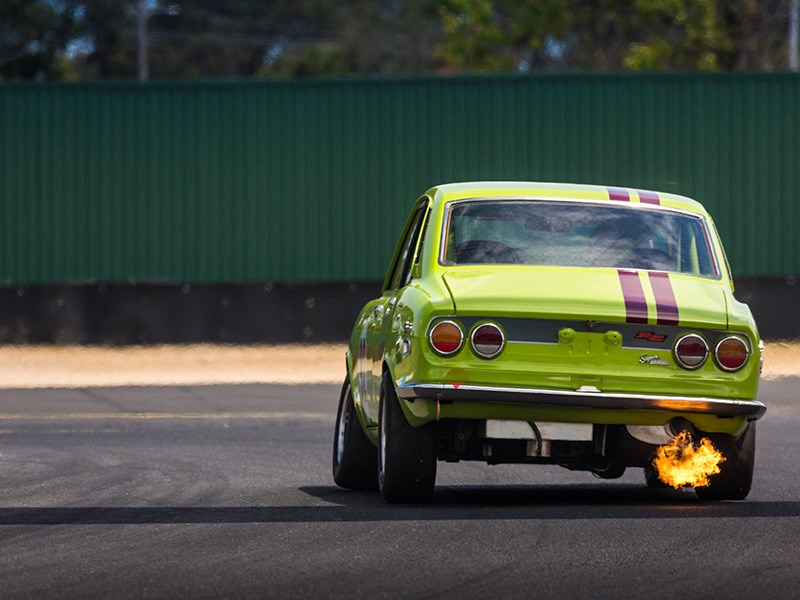 VHRR Sandown Historics FIRE