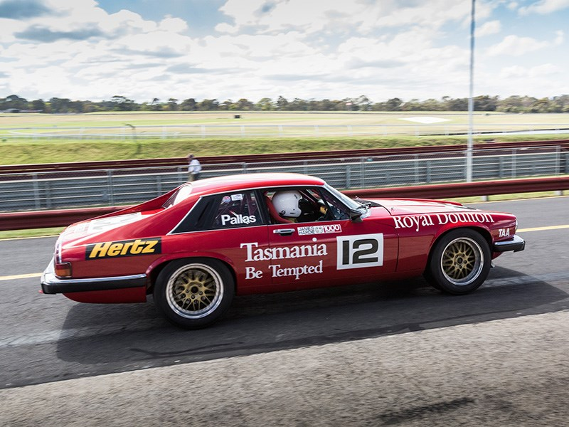 VHRR Sandown Historics Jaguar XJS