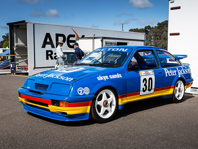 VHRR Sandown Historics Sierra