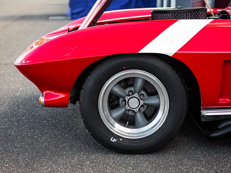 VHRR Sandown Historics StingRay wheel