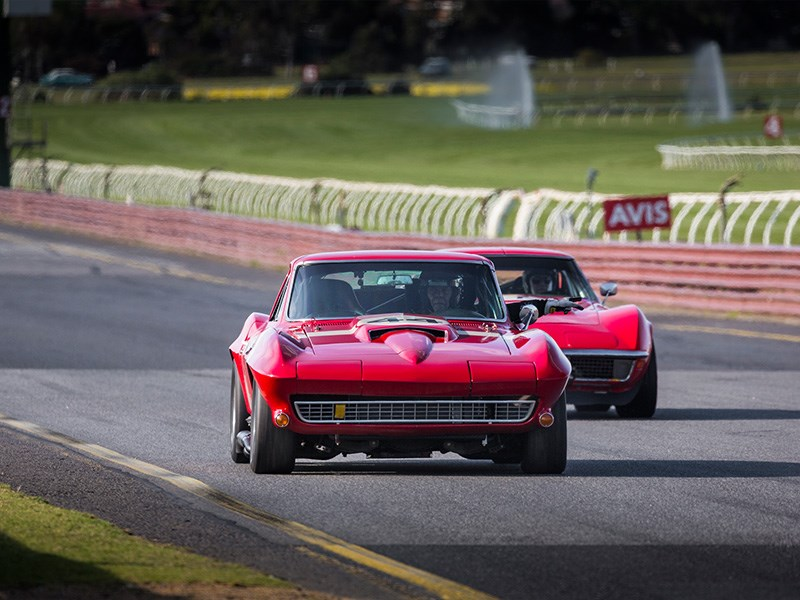 VHRR Sandown Historics Stingrays