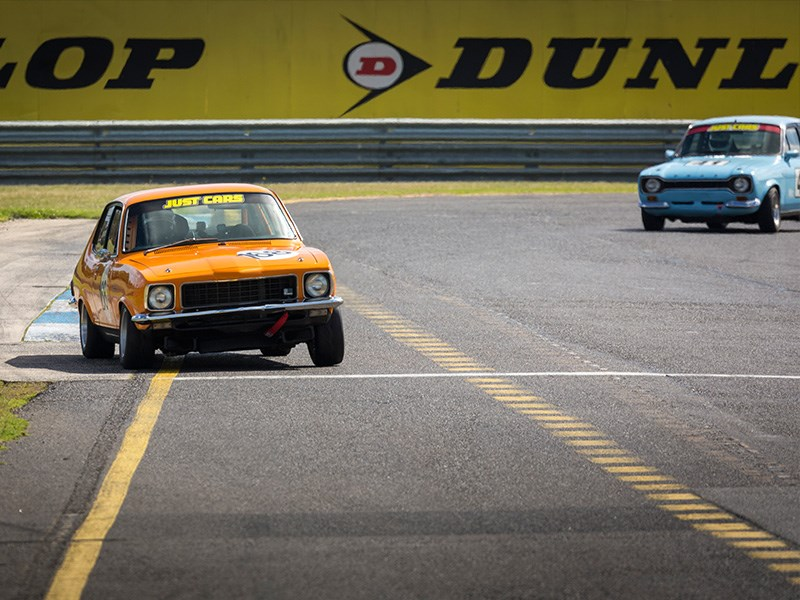 VHRR Sandown Historics Torana Escort