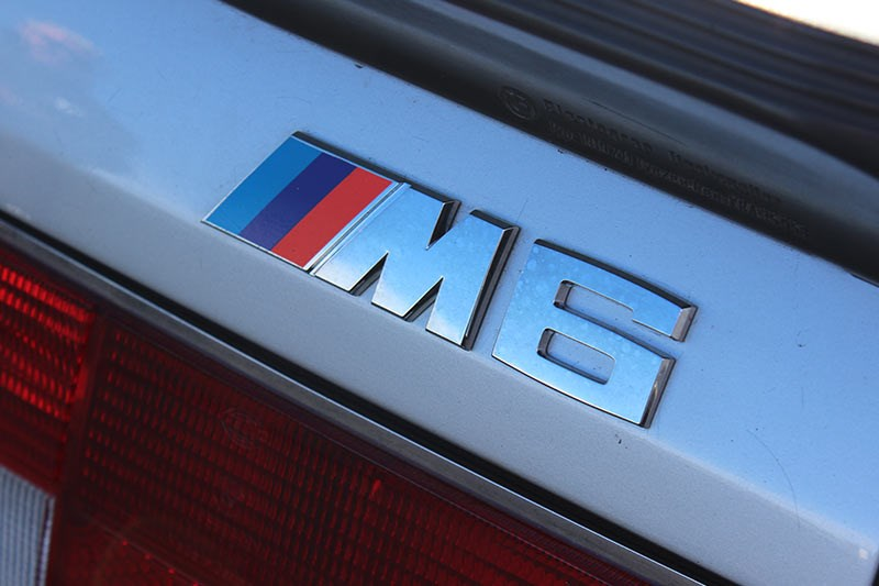 bmw m6 badge