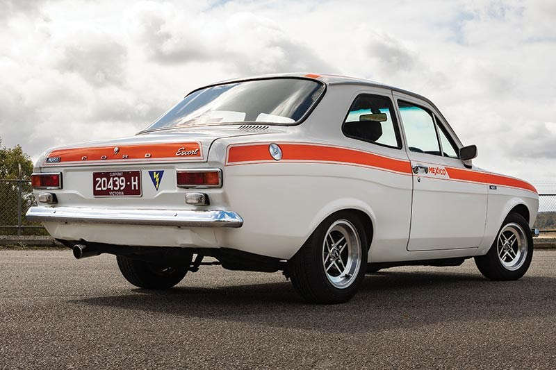 ford escort rear