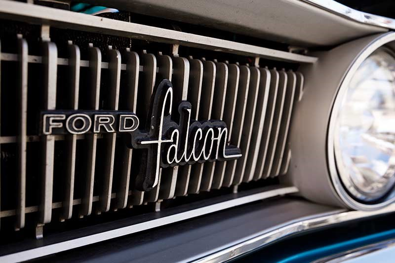 ford falcon grille