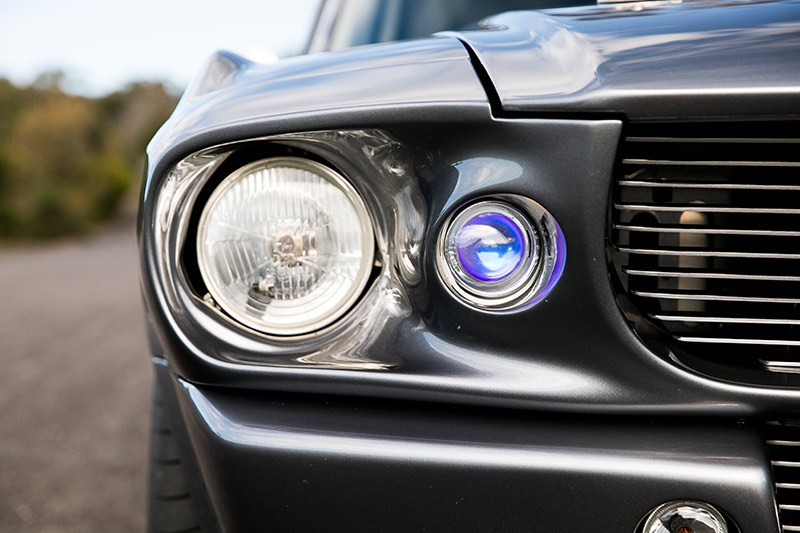 ford mustang eleanor headlights