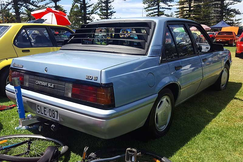 holden camira rear
