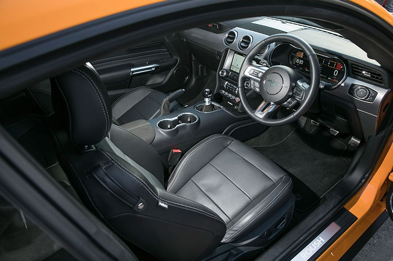 roush mustang interior