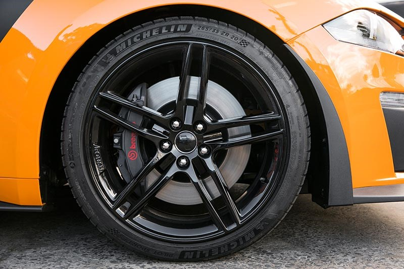 roush mustang wheel