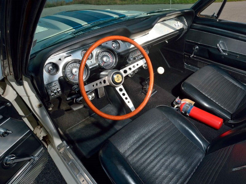 One off Shelby interior