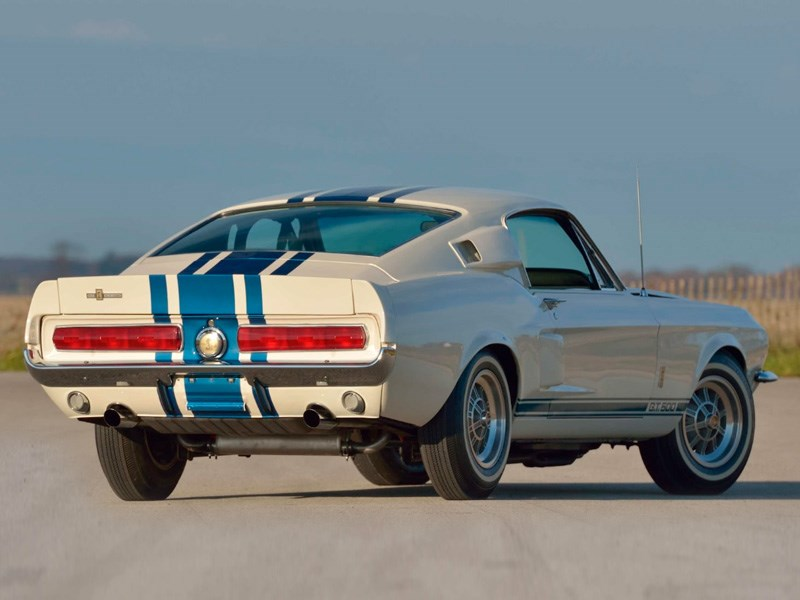 One off Shelby rear