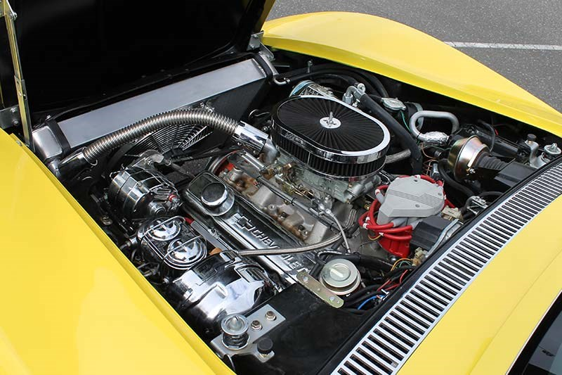corvette c3 stingray engine bay