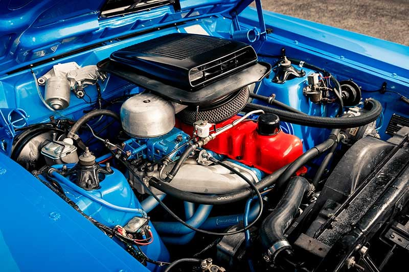 falcon xy ute engine bay